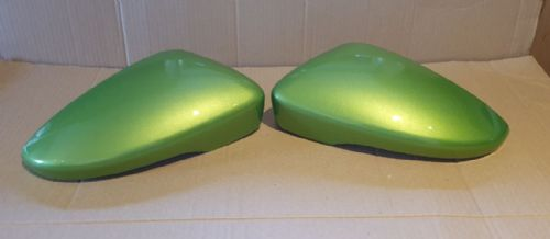 VW SCIROCCO 2008 ONWARDS PAIR OF WING MIRROR COVERS IN VIPER GREEN